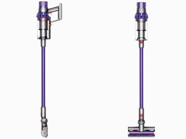 Two Dyson Cyclone V10 animal cord free vacuum cleaners